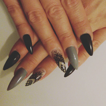 Duo Nails Instagram Basel Nägel Grau